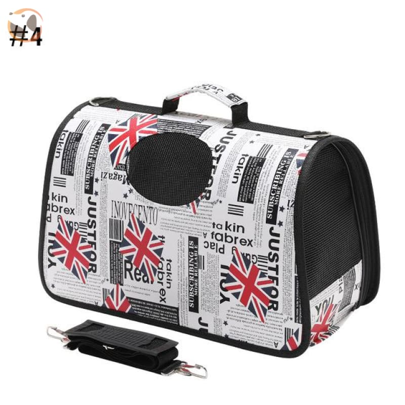 High quality Cat Carrier Backpack - UK Flag / S