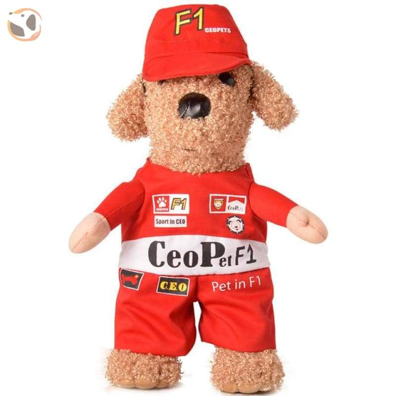 Hilarious Dog Costumes For Special Days - F1 Racer / L