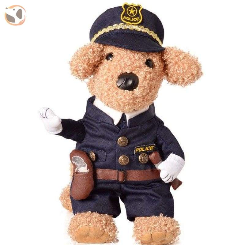 Hilarious Dog Costumes For Special Days - Policeman / L