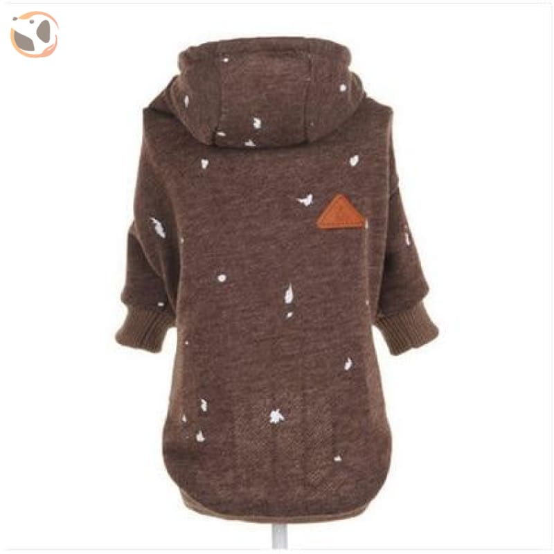 Hoodie for Cats - Brown / XS