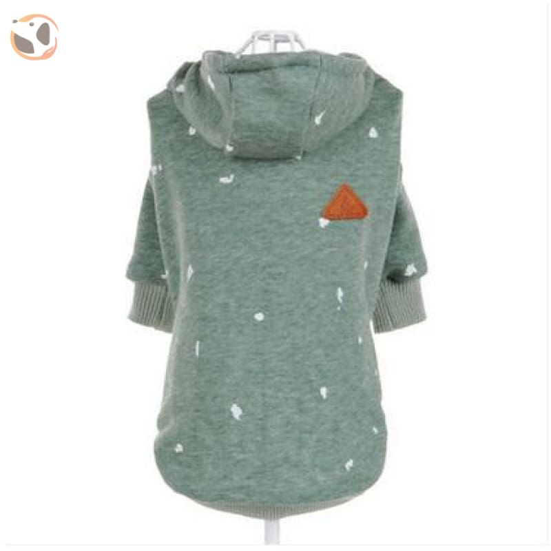 Hoodie for Cats - Green / XS