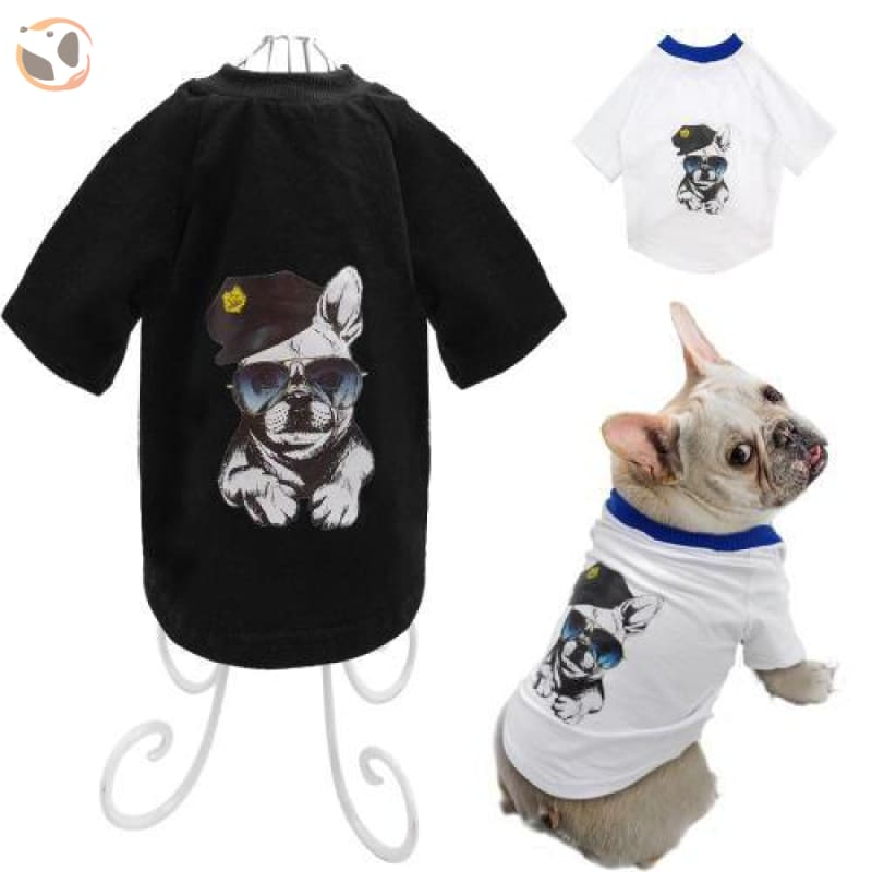 Pitbull Printed Dog T Shirt For Small/medium Dogs