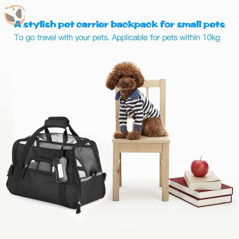 Portable and Adjustable Travel Bag for Small Pets