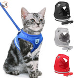 Reflective Cat Harness&Leash Set