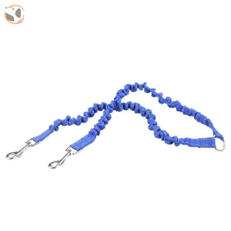 Retractable Cute Patterned Dog Leashes - Blue / M