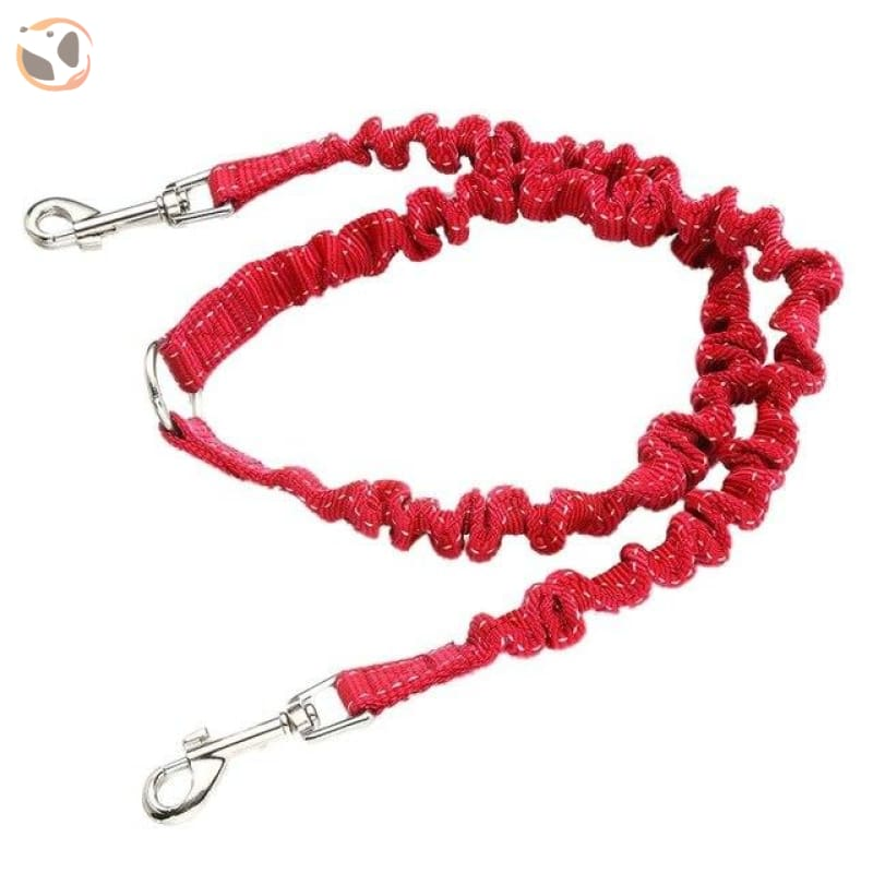Retractable Cute Patterned Dog Leashes - Red / M