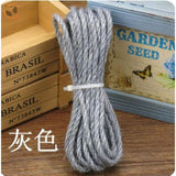 Rope for Cat Climbing Tree - Gray Rope / 5mm 5meter