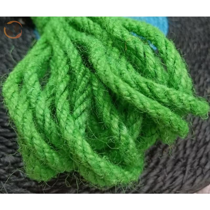 Rope for Cat Climbing Tree - Green Rope / 5mm 5meter