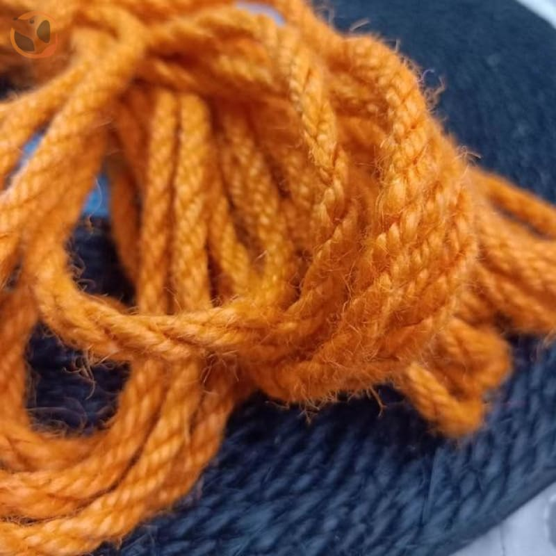 Rope for Cat Climbing Tree - Orange Rope / 5mm 5meter