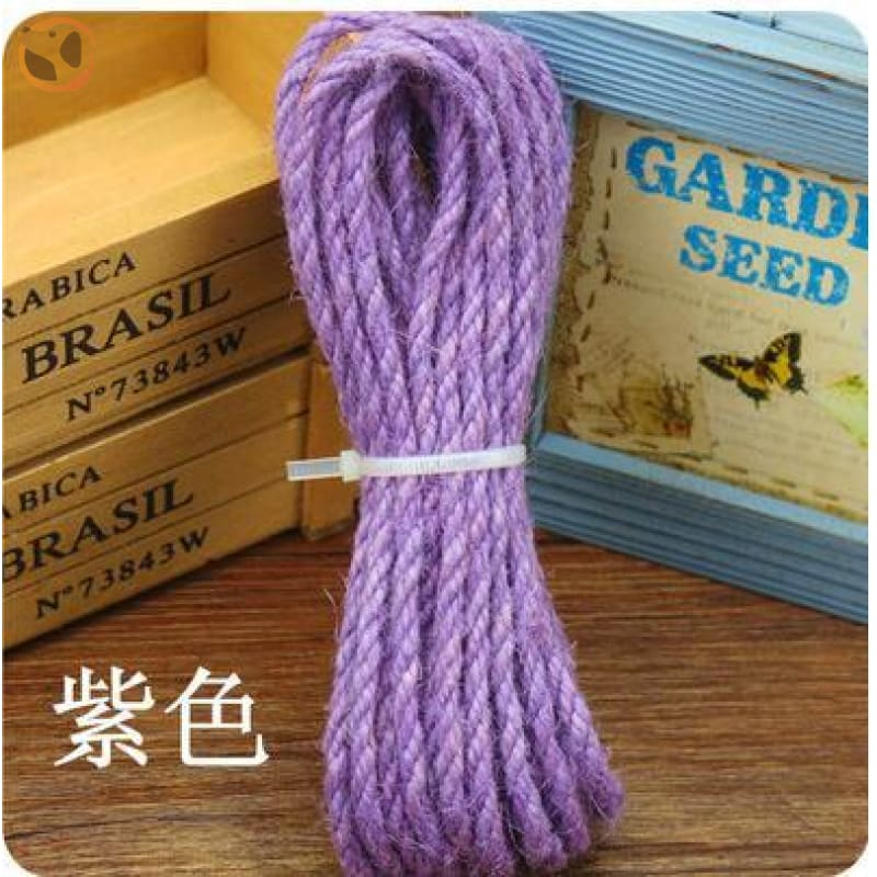 Rope for Cat Climbing Tree - Purple Rope / 5mm 5meter