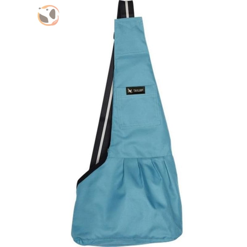 Single Shoulder Small Dog Carrier Bag - Green / L