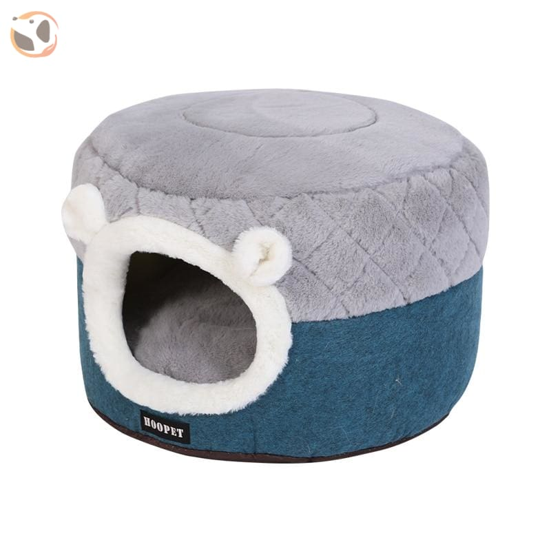 Soft Plush Cushion for Cats - Gray / S