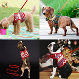 Soft Printed Dog Harness Leash Set For Small Dogs