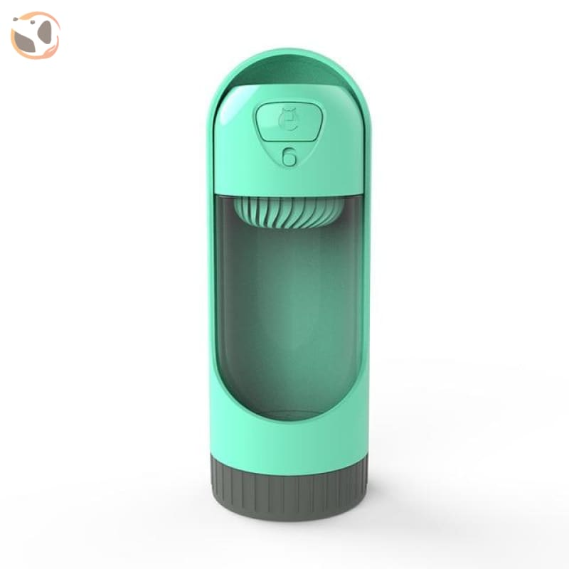 Water Bottle for Dogs - Green