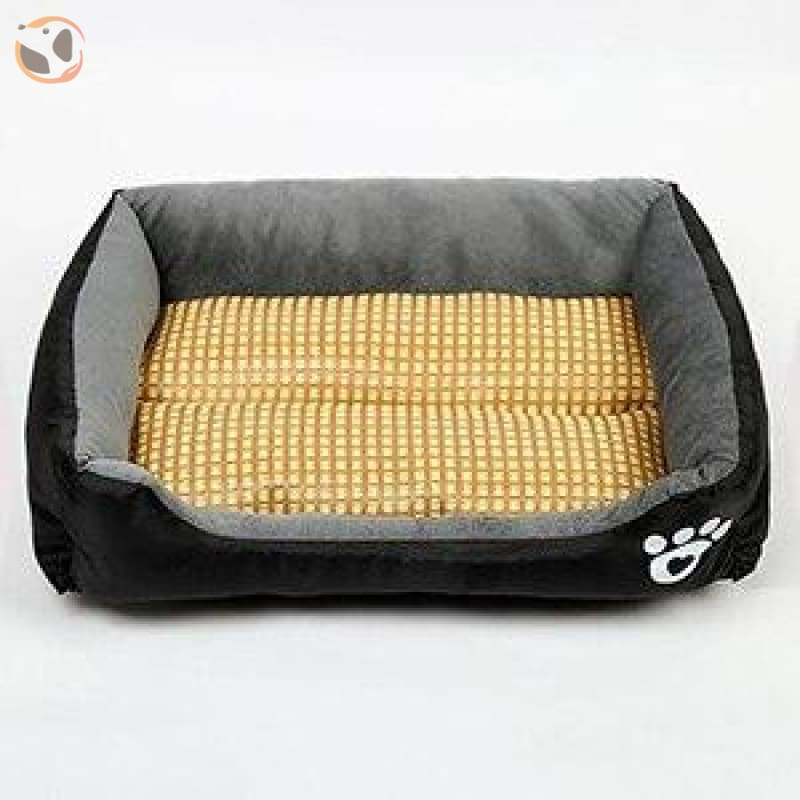 Waterproof Soft Bed for Pets - Black / 31 x 23 inch