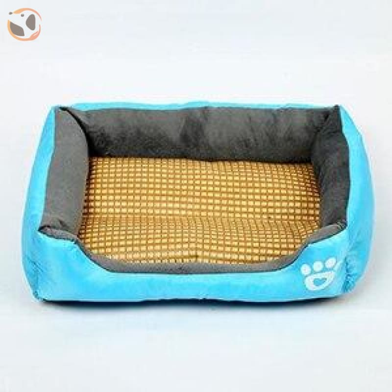 Waterproof Soft Bed for Pets - Blue / 43 x 32 inch