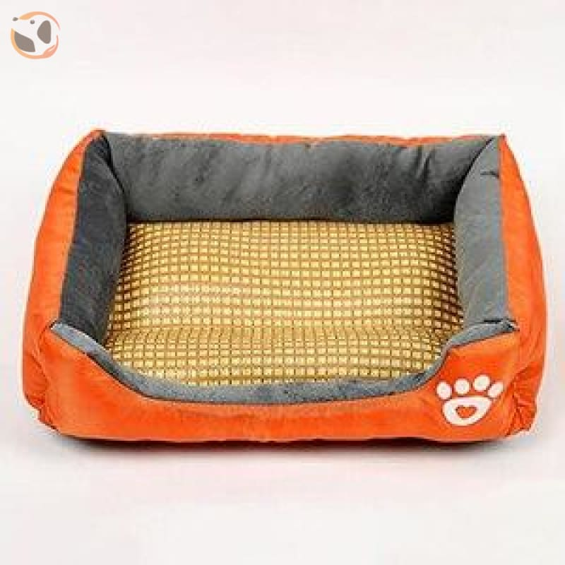 Waterproof Soft Bed for Pets - Gold / 43 x 32 inch