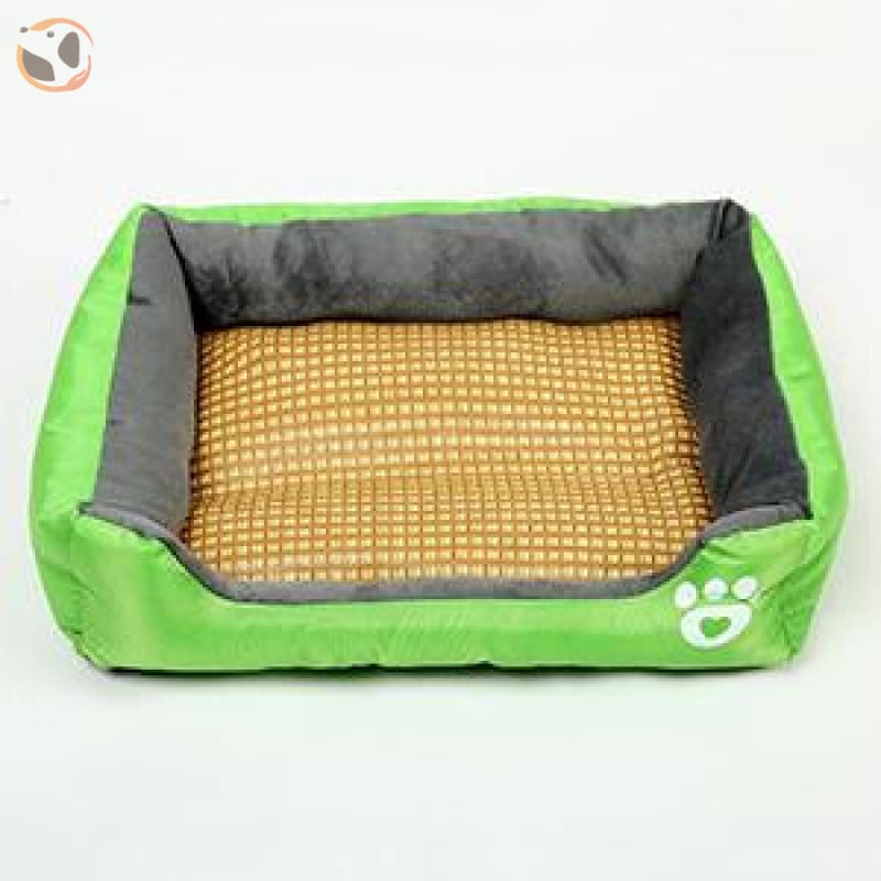 Waterproof Soft Bed for Pets - Green / 21 x 16 inch