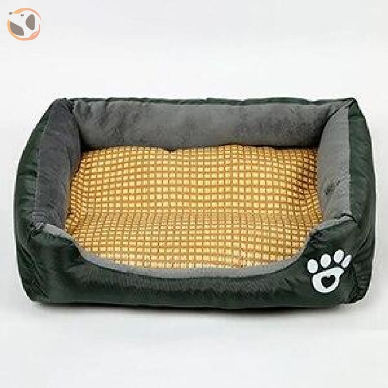 Waterproof Soft Bed for Pets - Navy Blue / 21 x 16 inch