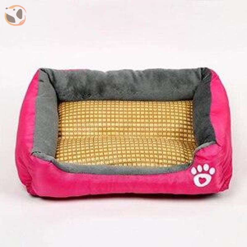 Waterproof Soft Bed for Pets - Rose / 21 x 16 inch
