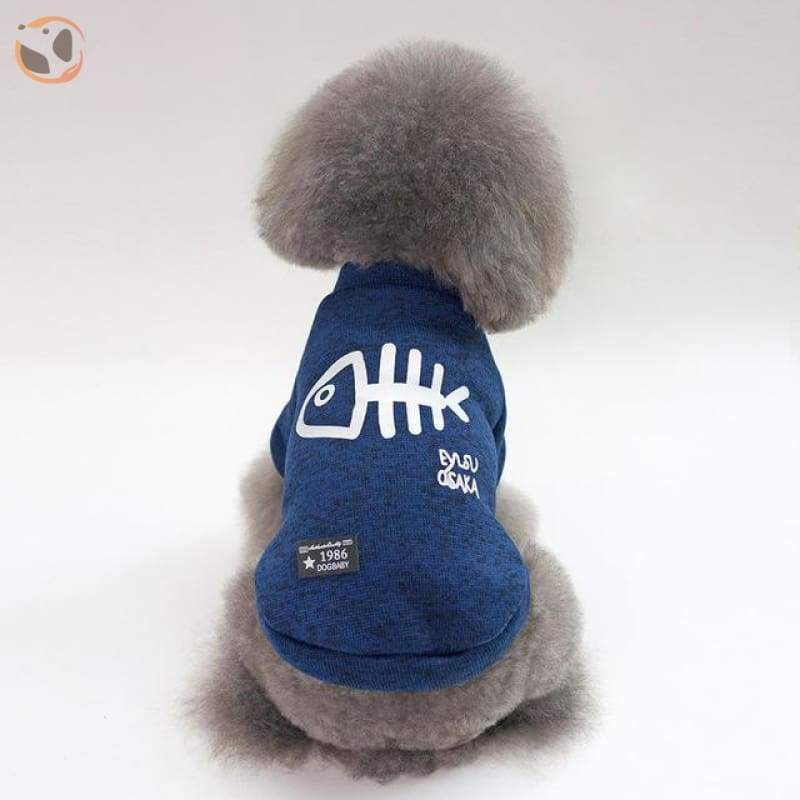 Winter Jacket for Dogs - Blue / L