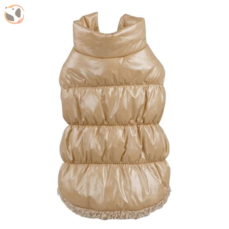Winter Padded Small And Large Dog Coats - Beige / 3Xl