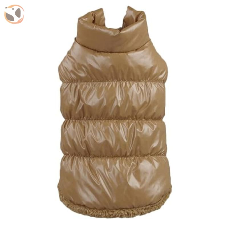Winter Padded Small And Large Dog Coats - Brown / 3Xl