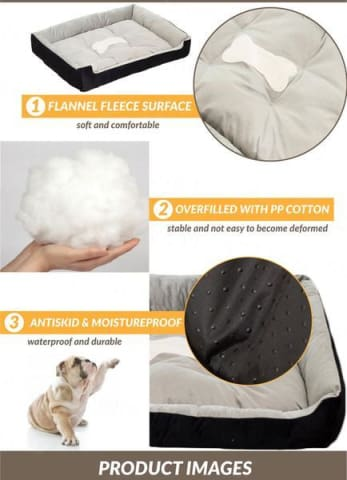 Product Details of Soft Warming Dog Bed for Winter