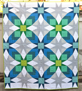 The Glenda Quilt Paper Pattern