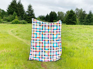 Plaid-ish 2 Quilt Tutorial