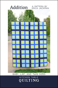 Addition Quilt Paper Pattern