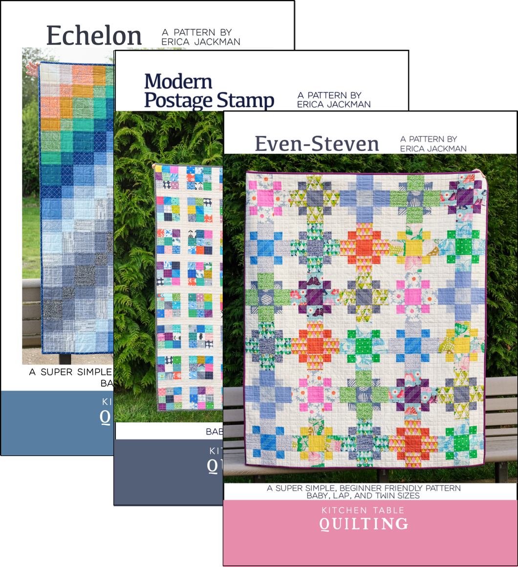 Beginner Quilt Pattern Paper Bundle