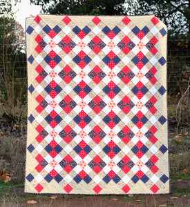 The Nancy Quilt Paper Pattern