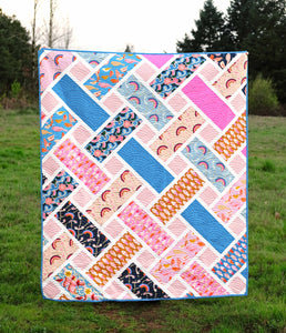 The Tessa Quilt Paper Pattern