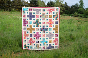 The Violet Quilt Paper Pattern