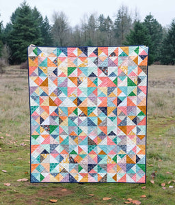 The Cleo Quilt Paper Pattern