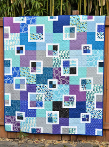 The Flora Quilt Paper Pattern