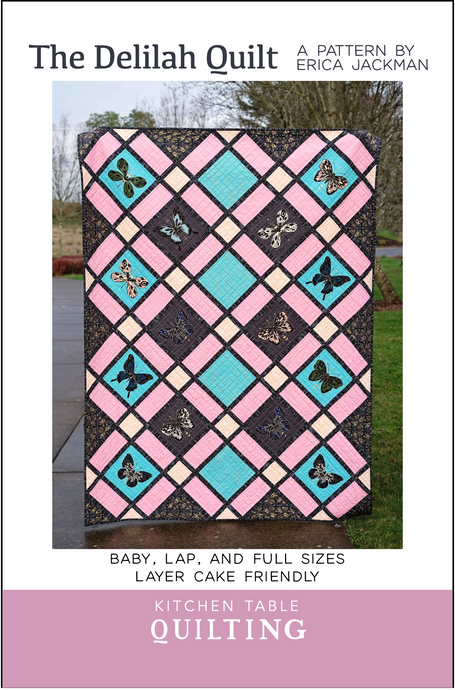 The Delilah Quilt Paper Pattern