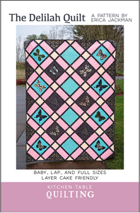 The Delilah Quilt Pattern Coloring Sheets