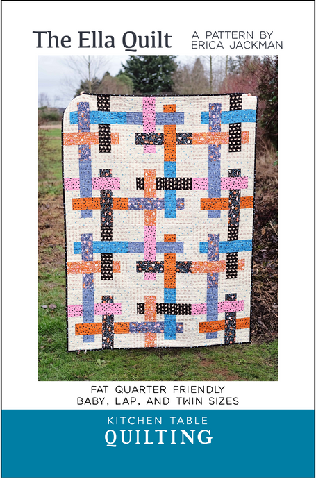 The Ella Quilt Paper Pattern