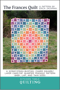 The Frances Quilt PDF Pattern