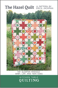 The Hazel Quilt Paper Pattern