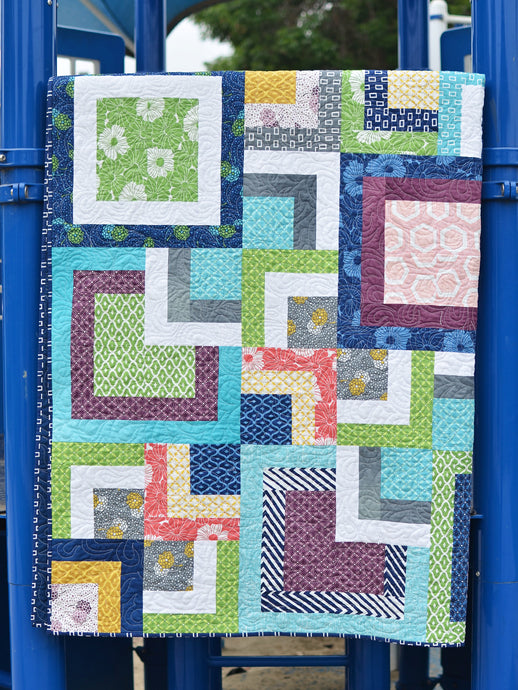 Stacked Squares Quilt Tutorial