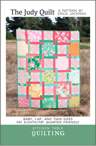 The Judy Quilt Paper Pattern