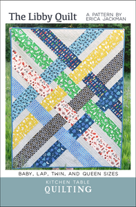 The Libby Quilt Paper Pattern