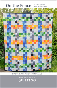 On the Fence Paper Quilt Pattern