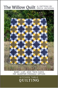 The Willow Quilt Pattern Coloring Sheets