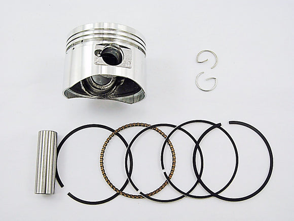 50CC Engine Piston Set horizontal style 50cc - ChinesePartsPro