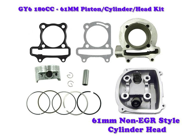 61MM Cylinder Engine Kit with  Non-EGR Head