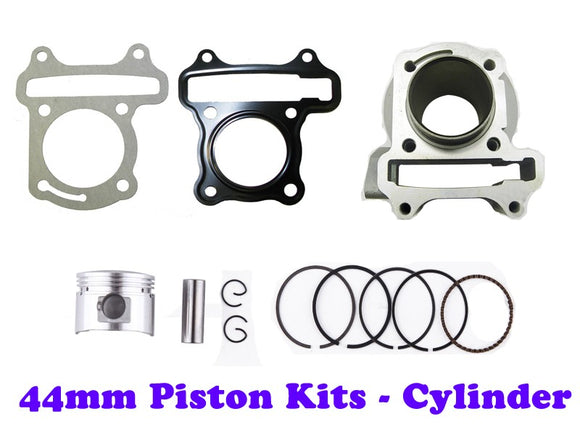 QMB139 44MM Big Bore Cylinder Engine Kit